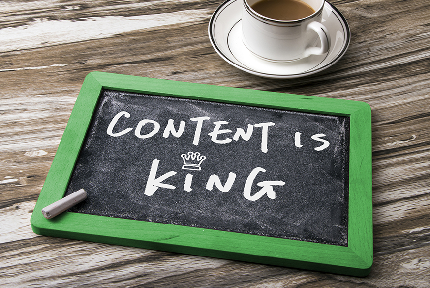 The importance of content marketing.